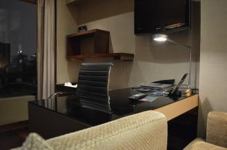 Study desk area