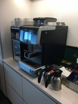 Coffee machine for when the barista bar is closed