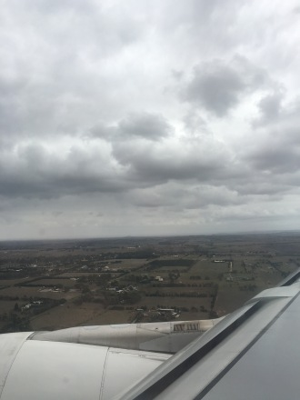 The approach reminds you how far away Melbourne airport is away from the City